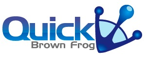 Quick Brown Frog logo